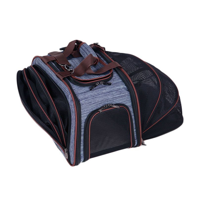 Good quality stylish pet carrier bag cat bag dog bag carrier-backpack wholesaler