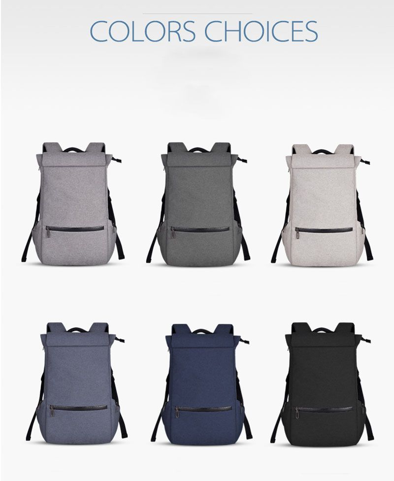 Classic College School Polyester Backpack wholesaler