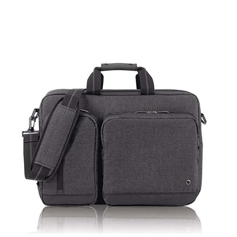 Grey 15.6″ Laptop Hybrid Briefcase Backpack wholesaler