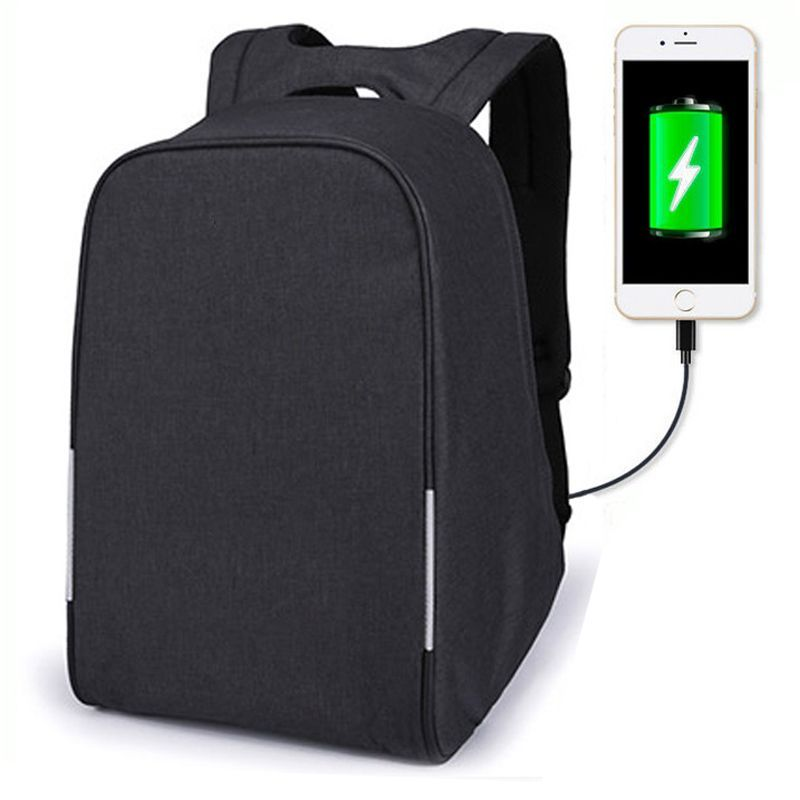Anti-theft Travel Backpack wholesaler Business Laptop School  Bag with USB Charging Port