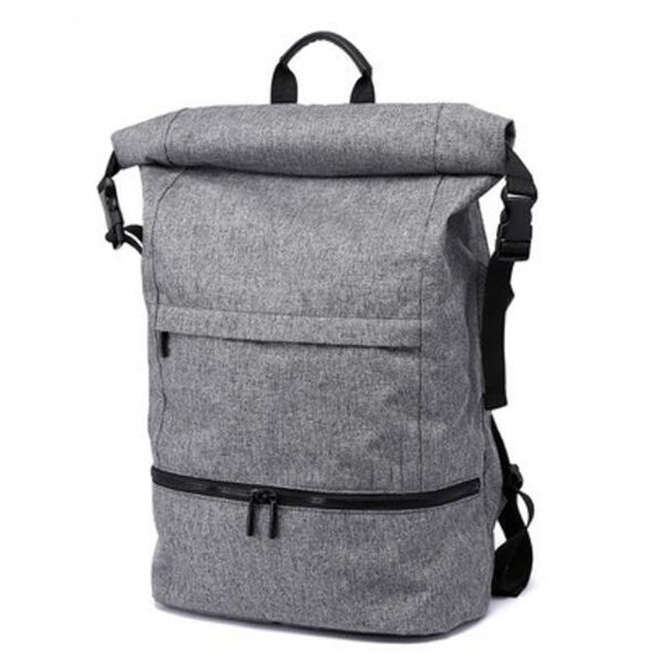 2018 latest fashion waterproof roll top backpack wholesaler outdoor travel backpack