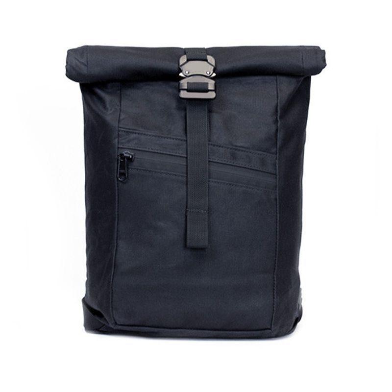 New trendy roll top messenger backpack manufacturer with one strap