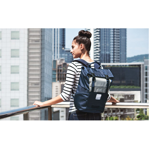 The Most Distinctive Roll Top Laptop Backpack In Here