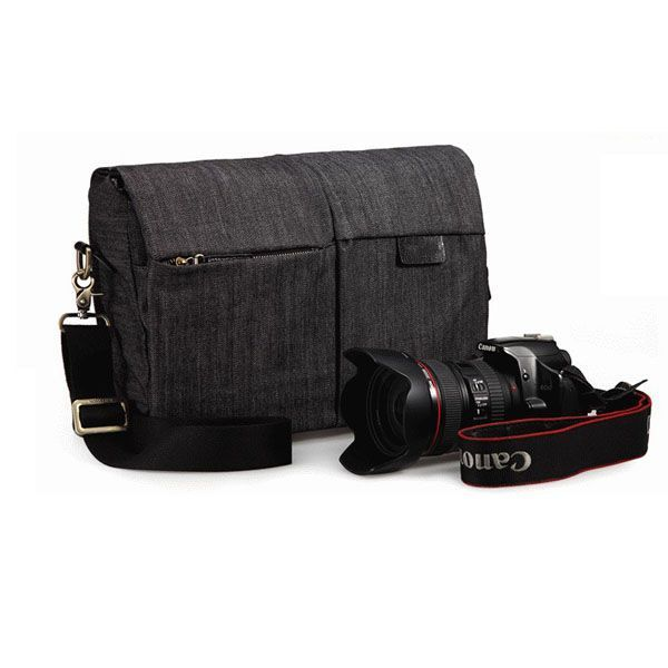Vintage Waterproof Canvas Camera Bag DSLR SLR Shockproof-backpack manufacturer