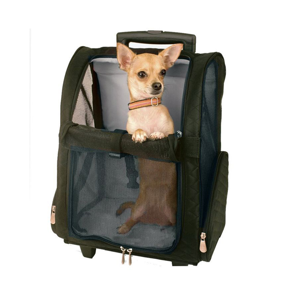 Multi-Use pet carrier backpack manufacturer, Roller Carrier for Dogs and Cats