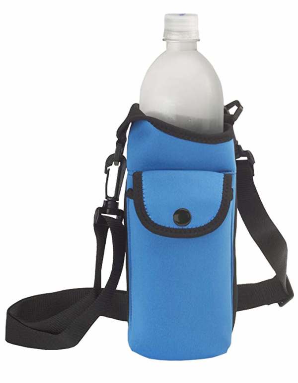 Smooth Trip Neoprene Bottle Bag with Phone Case and Zip Pocket-backpack manufacturer