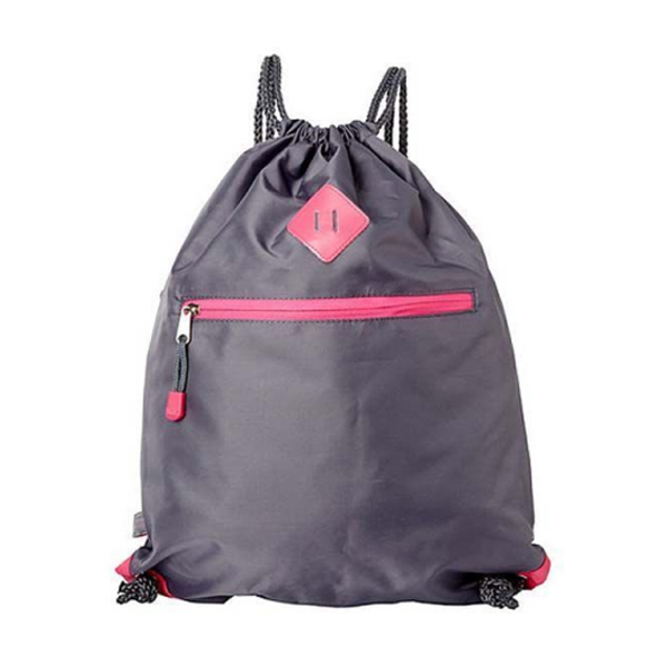 Fabric drawstring backpack wholesaler string bag from guangzhou