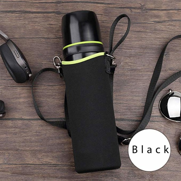 Environmental Neoprene Water Bottle Carrier Bag,with Bottle Holder and Adjustable Shoulder Strap Best for Hiking Walking and Office-backpack manufacturer