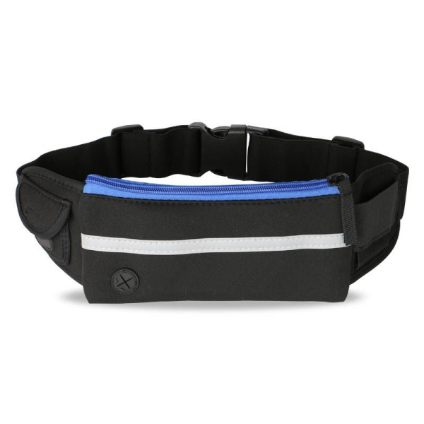 Black Elastic Waist Bag for Runners Belt, Jogging, Fitness and Gym-backpack manufacturer