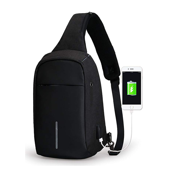 Men Anti Theft CrossBody Bag,Casual,Daypack,for Travel Camping Hiking-backpack supplier
