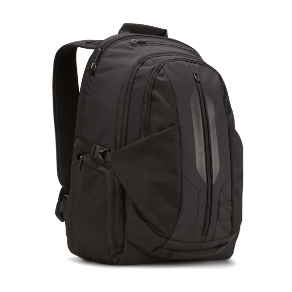17.3-Inch Black Laptop Backpack supplier with iPad/Tablet Pocket