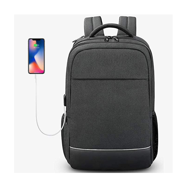 15.6 Inch Slim Business Laptop Backpack factory with USB Charging Port for Women& Men