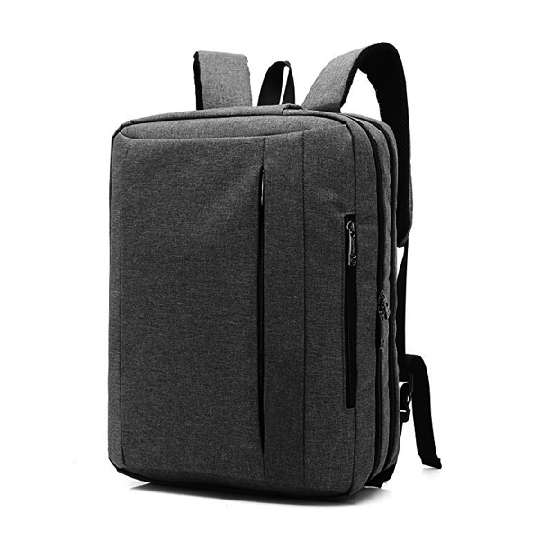 15.6 Inches Convertible Laptop Shoulder Backpack factory for Laptop/MacBook /Tablet (New Grey)