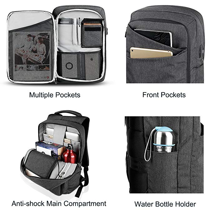 Business Anti Theft Laptop Backpack factory