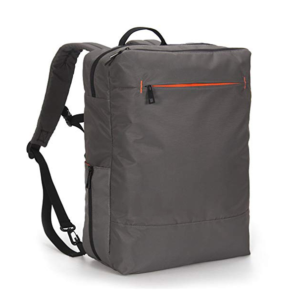 Minimalist City Travel Backpack factory for up to 15.6 inch Laptop Grey