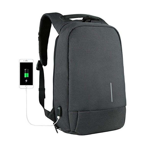 Anti-Theft Computer Backpack supplier for Business Work Travel with USB Charging Port Fits 15.6 Inch Laptop Notebook Tablet