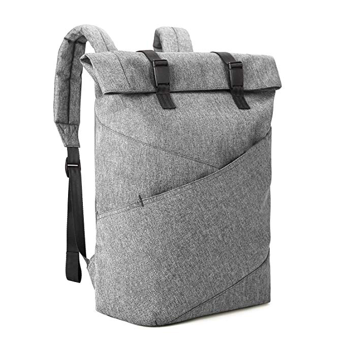 Grey Multipurpose Backpack Factory Fits 15.6 Inch Laptops