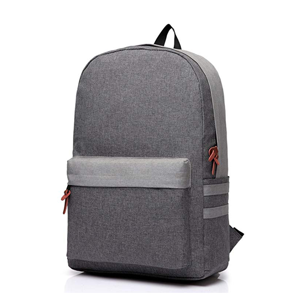 Unisex Classic Water Resistant Backpack factory Fits 14Inch Laptop with Earphone Port