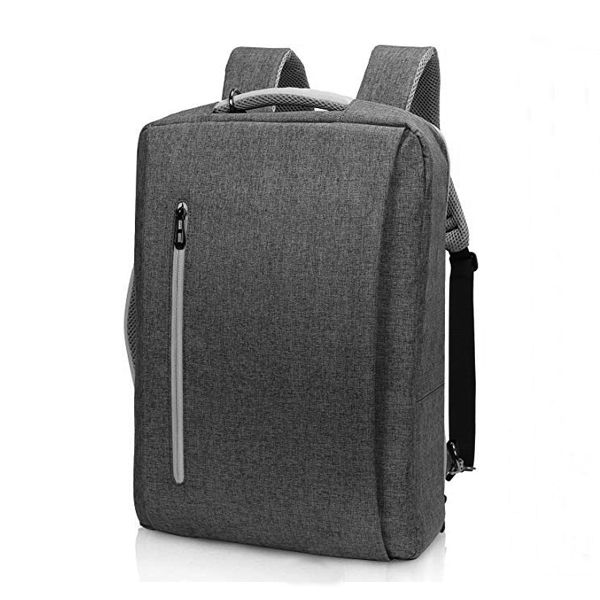 15.6 inch Multi-Functional Laptop Messenger Backpack factory with USB Charging Port