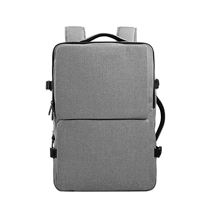 35L Water-Resistant Laptop Backpack factory Double Compartments For Hiking/Business/Daily