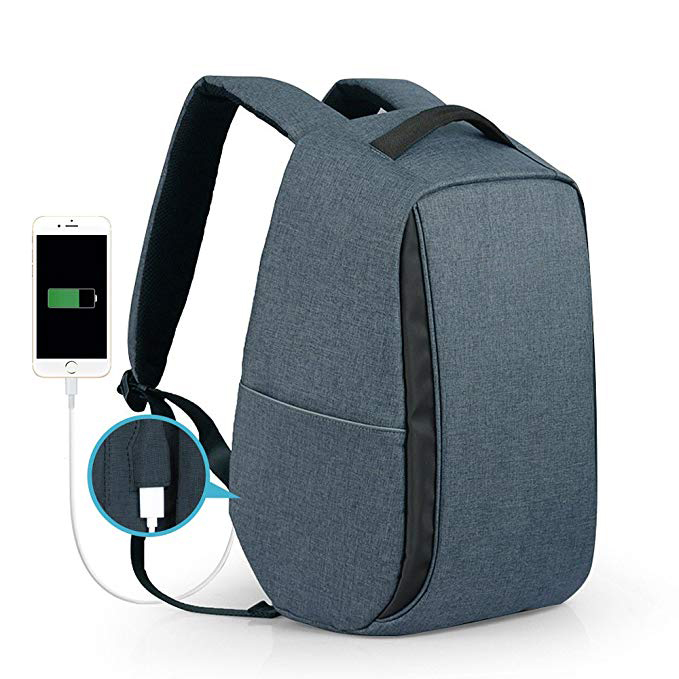 Anti-Theft Business Backpack factory with USB Charging Port for Student, Professional, College, Work
