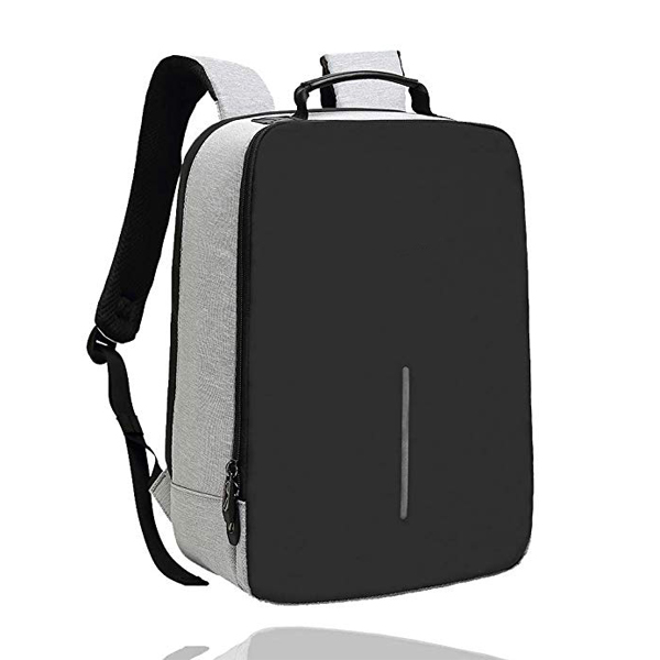 USB Power bank backpack factory price with Water-Resistant fabric