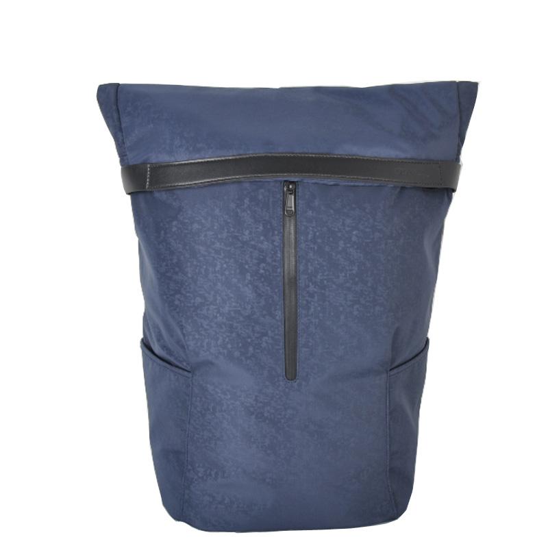 Durable nylon waterproof laptop rolltop backpack factory