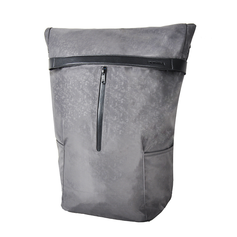 Waterproof nylon 15.6 inch business roll-top backpack factory