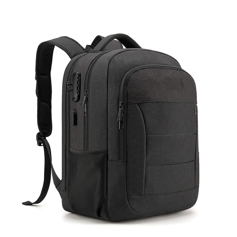 15 inch computer backpack factory with USB Charging Port