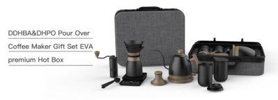 coffee set luxury suitcase factory