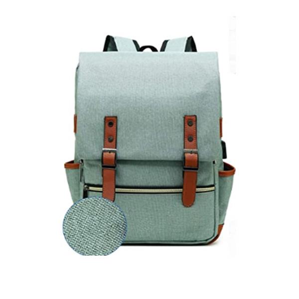 Good Quality Slim Vintage Laptop Backpack manufacturer