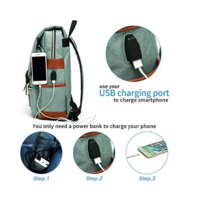 USB charging Laptop backpack manufacturer
